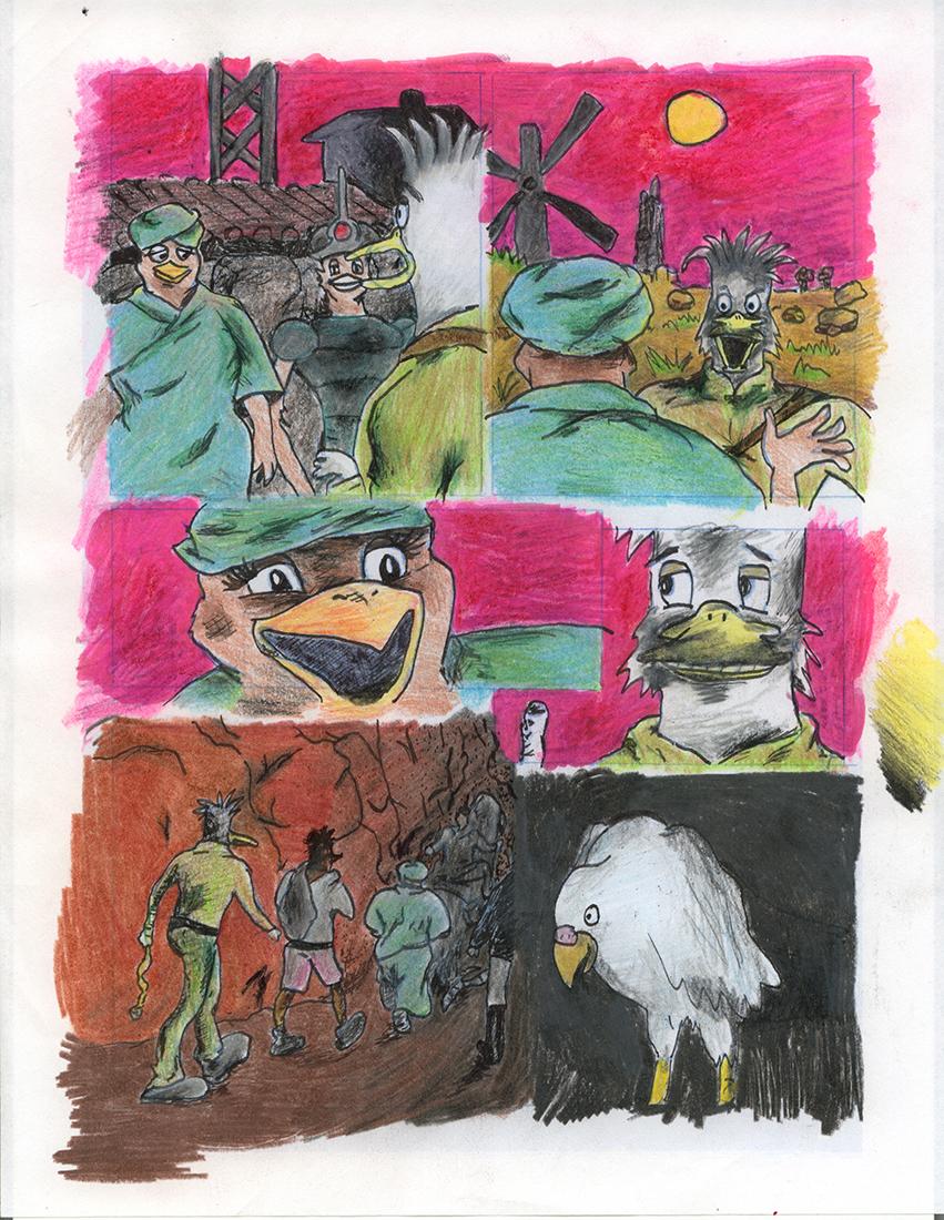 Original Sketch Ideas for Quackup...